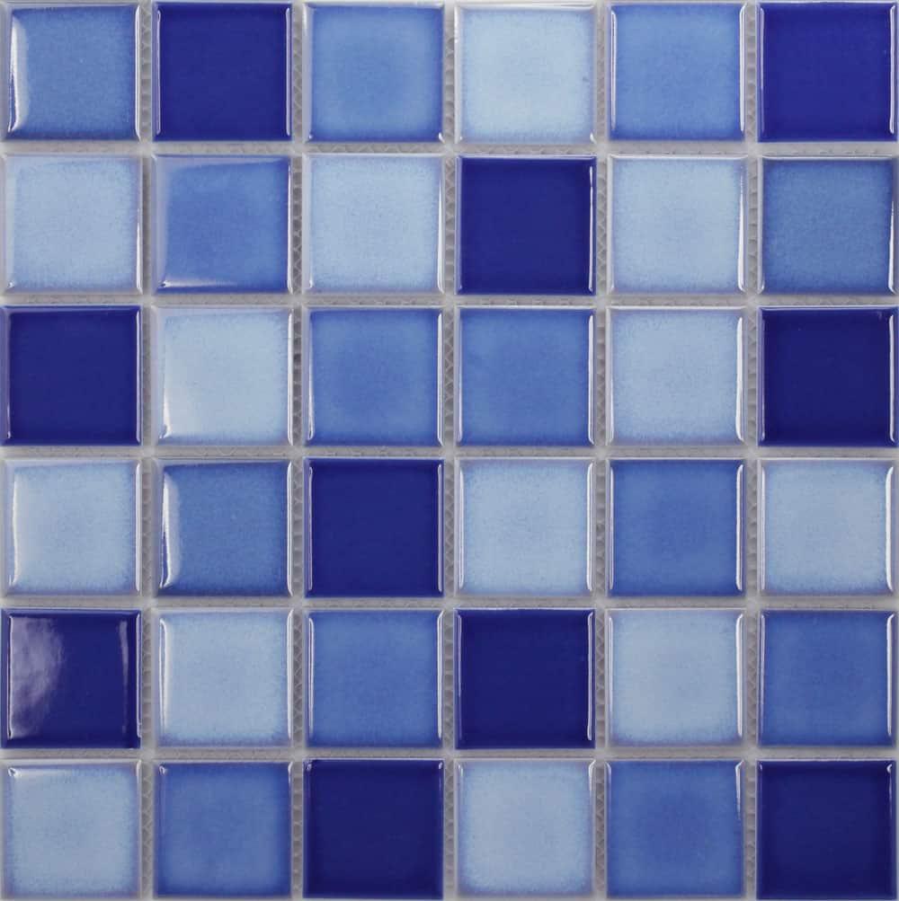 Gạch mosaic Gốm, Gạch hồ bơi