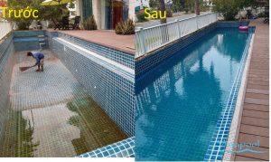 Dịch vụ sửa chưa thay thế thiết bị hồ bơi Emaux,