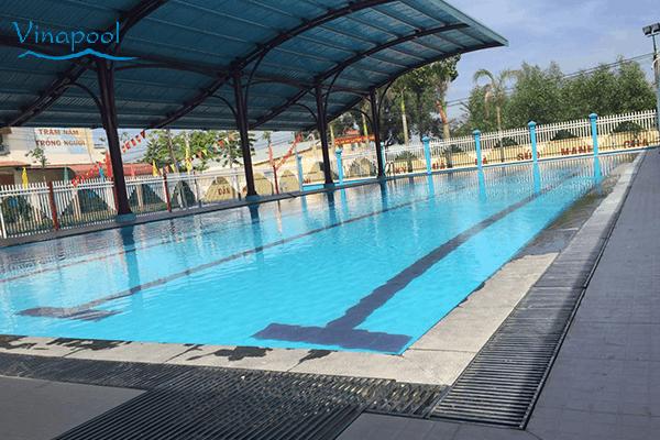 Hồ bơi trường Tiêu học Âu Cơ- Đồng Nai