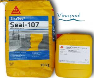 Hóa chất chống thầm hồ bơi SIKA TOPSEAL 107