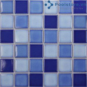 Gạch Mosaic Gốm Men Trơn M48TG331