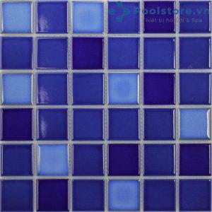 Gạch Mosaic Gốm Men Trơn M48TG332