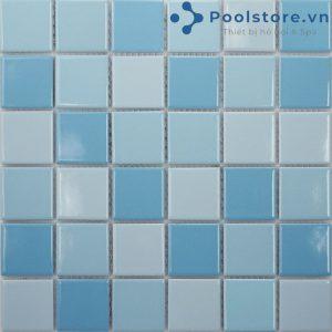 Gạch Mosaic Gốm Men Trơn M48TN331