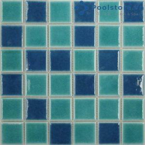 Gạch Mosaic Gốm Men Trơn M48TS424