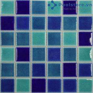 Gạch Mosaic Gốm Men Trơn  M73TS433