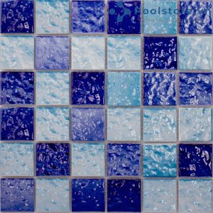 Gạch Mosaic Gốm Men Hoa M48TW323