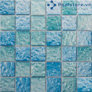 Gạch Mosaic Gốm Men Vân Hoa M48TW423