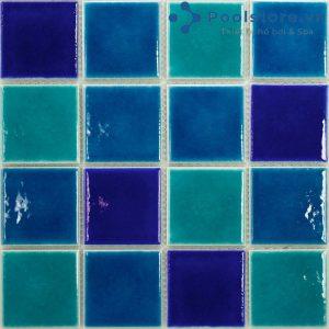 Gạch Mosaic Gốm Men Trơn M48TS433
