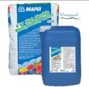 Vật liệu chống thấm hồ bơi MAPEI K11 HIGH FLEXIBLE