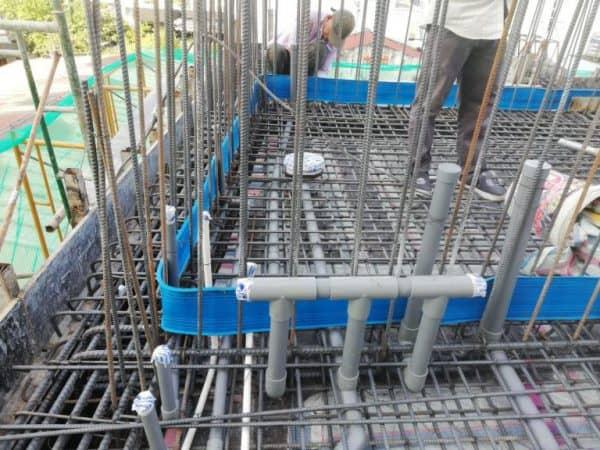Hệ thống ống nước hồ bơi