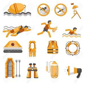 Danh mục thiết bị cứu hộ bãi biển, bể bơi