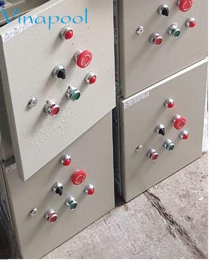 Tủ điều khiển thiết bị hồ bơi