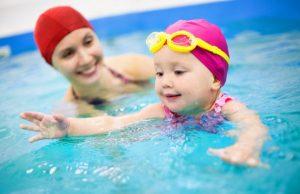 Dịp hè thời gian lý tưởng dạy bơi cho trẻ