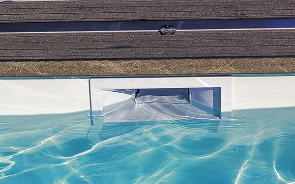 Phụ kiện bể bơi: ống thu mặt nước Skimmer