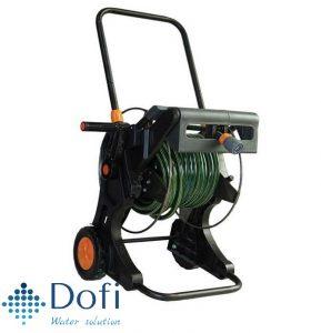Ống cuộn sân vườn Holman 1153H có xe đẩy bằng kim  loại (15met)