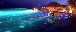 Cung cấp và lắp đặt đèn sao trang trí hồ bơi sân vườn